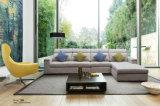 Sofa sectionnel moderne, sofa de tissu de salle de séjour (188)