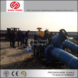 De Pomp van het zand door Weichai Dieselmotor wordt aangedreven die