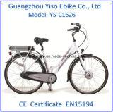 درّاجة كهربائيّة مع [إكسوفو] محرّك محرّك كثّ مكشوف