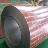 Revestido de color galvanizado bobina de acero (PPGI) (0.13-0.8mm)