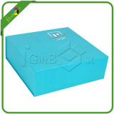 Contenitore di regalo piegante piano della chiusura magnetica di carta su ordinazione