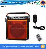 Haut-parleur manuel actif de chariot à PA avec l'entrée du microphone USD/TF