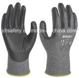 18 Anzeigeinstrument-schützender Arbeits-Handschuh mit PU (K8081-18)