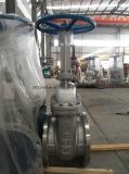 API600 Class150 Gang-Endlosschraube gebetriebener Kohlenstoff-Absperrschieber (Z41H-150LB-DN450)