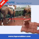 Sicherheitskreis-Gummifliese, Gummiziegelstein-Pferden-Produkt