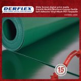 Rullo della tela incatramata del PVC per il coperchio del camion, tenda, materiale della barca, 450-1500g (13-44oz)
