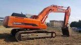 Doosan a employé l'année 2012 de l'excavatrice 420LC-7