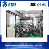 Máquina de rellenar rotatoria automática del agua carbónica de la botella de cristal 3 In1