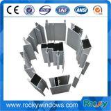 Les matériaux de construction bon marché obtiennent à guichet d'aperçus gratuits le profil d'alliage d'aluminium