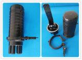 Fermeture optique d'épissure de fibre imperméable à l'eau de dôme, corps de boîte
