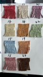 Wholesale viele Edemetallbarren-Franse der Farben-Wahl-6cm für Gewebe