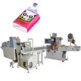 Faltende Maschinen-Serviette-aufschlitzende Maschinen-Pocket Gewebe-Papierverpackungsmaschine