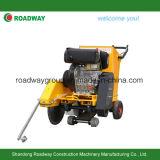 La máquina del corte de carreteras concreta, cortador del camino, camino vio la máquina
