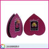 Caixa de empacotamento Heart-Shaped do presente do Valentim para a jóia/doces/chocolate (XC-1-051)