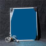 Chaufferette infrarouge ordinaire de couleur ou de panneau de mur en cristal de carbone d'impression d'illustration