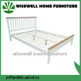Kiefernholz-doppeltes Bett für Schlafzimmer (W-B-0075)