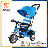 Triciclo multifunzionale del bambino delle 2016 di nuovo stile popolare rotelle di Softtextile tre
