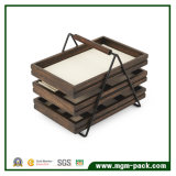 Traitement spécial de cadre en bois de rétro peinture