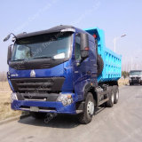 Sinotruk 371HP 6X4 Camión Volquete Euro2 18m3 LHD HOWO A7 Camiones de cadenas