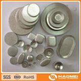 Lingotes rodados caída del aluminio del círculo