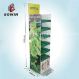 Custom Retail Store Promotion Stationery Paper Display Stand / Papeterie pour le thé