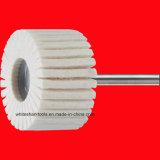 Rotella di lana del feltro con l'asta cilindrica