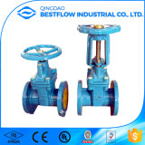 Awwa C515 Ductile Iron Glanged Joint Flecibility Gate Valve