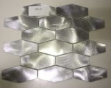 Mattonelle di mosaico di alluminio delle mattonelle della parete della cucina