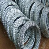 Border Fenceの建物Material Hot Dipped Galvanized Razor Wire Used