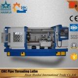 Torno econômico do CNC da linha de tubulação da elevada precisão Qk1319