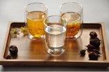 300ml創造的な二重壁の飲むガラスのコーヒー・マグのティーカップ