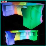 Стекло штанги портативного зарева самомоднейшее СИД RGB пластмассы