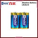 Сухая алкалическая батарея 1.5V размера клетки Lr20 d