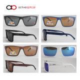 Parte superior polarizada forma que vende óculos de sol baratos