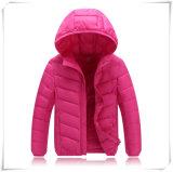 Зимы толщиной экстренная большая шерсти ворота вниз куртки пальто утки пера детей куртка вниз