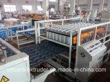 Ligne glacée par PVC+ASA chaîne de tuile de toit de Chambre de production ondulée de tuile de construction de pente de PVC deux couches des machines 880 1050 de feuille