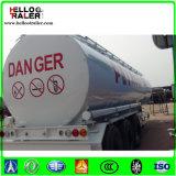 Du prix usine 3axle 45000liters du carbone d'acier de combustible dérivé du pétrole de camion-citerne remorque diesel semi