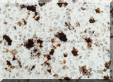 水晶Silestoneの石造りの平板の工場か水晶
