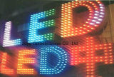 9mm / Branco DC5V / 12V LED Exposed Letter Pixel String Light para letreiro