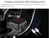Caricatore di vendita caldo dell'automobile di Bluetooth con il USB bidirezionale della spina con la scheda di TF di sostegno di controllo di APP del telefono mobile ed il trasmettitore del USB Disk/FM (BC12B)