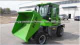 4X4 Kipwagen van de Aandrijving van het wiel de Hydraulische Mini2ton van China