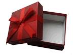 Empaquetado reciclado del rectángulo de regalo del papel de la Navidad