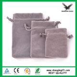 Мешок мешка изготовленный на заказ ювелирных изделий упаковывая роскошный мягкий