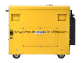 генератор электрического старта 8.5kw молчком тепловозный с автошинами опционными