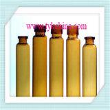 Freie und bernsteinfarbige Einspritzung-Glasphiole-Flasche für Apotheke durch Nullglasgefäß