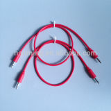 "1/8 ""3.5mm Mono Jack Patch Cable para Sintetizador Modular"