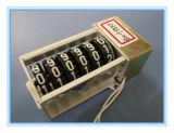 Un contatore Anti-D'inversione meccanico dei 2 fori di montaggio per il tester di chilowatt