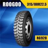 Roogoo TBR Neumaticos PARA Camiones, camión de Llantas (315/80R22.5)