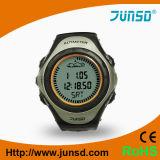 Altímetro do termômetro do barómetro do pulso com tempo Forecase (JS-704)