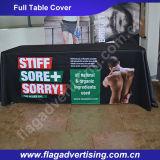 Costume da fábrica pano de tabela de anúncio da feira profissional de 6FT e de 8FT, Throw da tabela, tampa de tabela